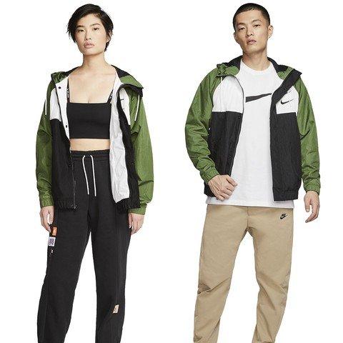 Nike Sportswear Swoosh Woven Hooded Kapüşonlu Erkek Ceket