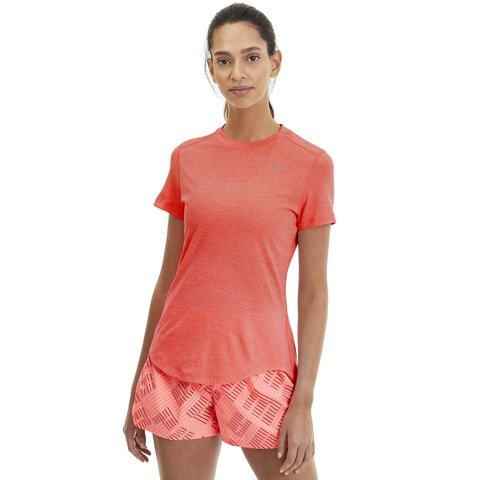 Puma Ignite Heather Short Sleeve Kadın Tişört
