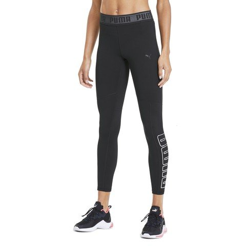 Puma Logo Elastic 7/8 Leggings Training Kadın Tayt