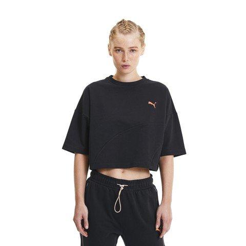 Puma Evide Form Stripe Crop Kadın Tişört