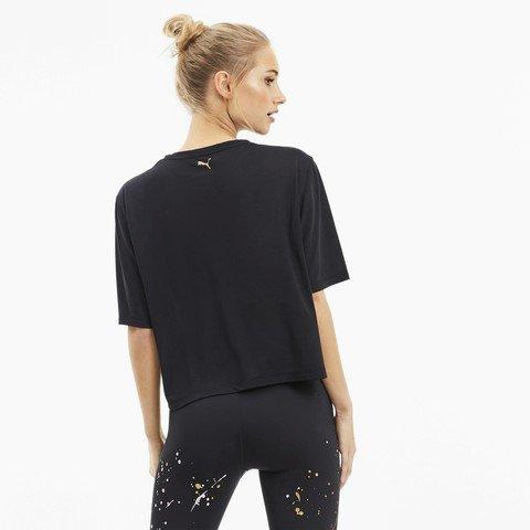 Puma Metal Splash Graphic Training Kadın Tişört