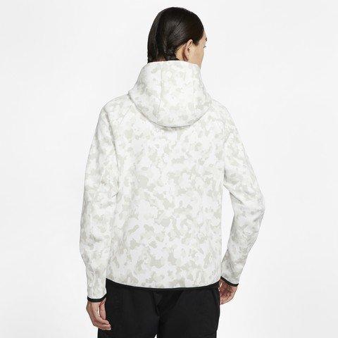 Nike Sportswear Tech Fleece Full-Zip Printed Hoodie Kapüşonlu Erkek Sweatshirt