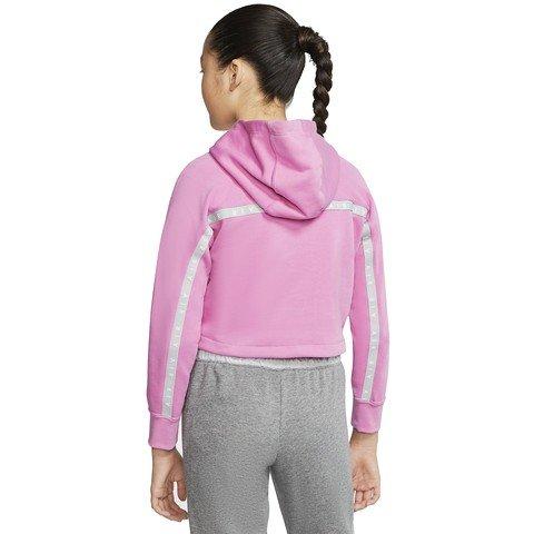Nike Air Older Kids' (Girls') Cropped Hoodie Çocuk Kapüşonlu Sweatshirt