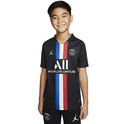 Nike Jordan x Paris Saint-Germain 2019-2020 Stadium Fourth Çocuk Forma
