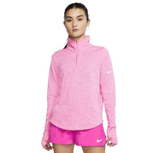 Nike Sphere Half-Zip Running Top Uzun Kollu Kadın Tişört