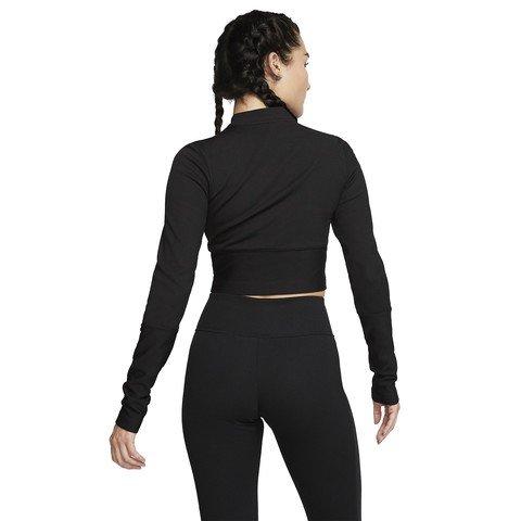 Nike Air Ribbed Long-Sleeve Top Uzun Kollu Kadın Tişört