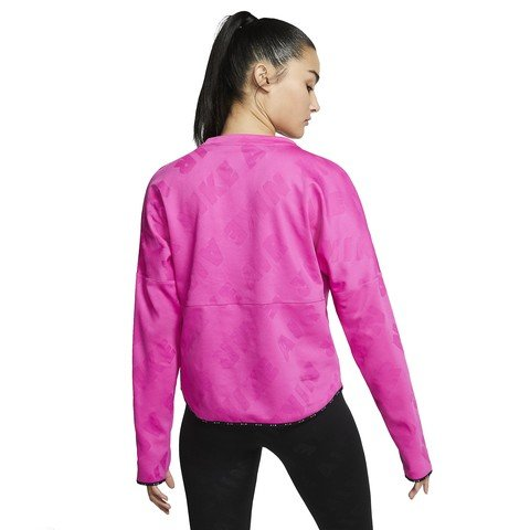 Nike Air Midlayer Long-Sleeve Running Top Kadın Uzun Kollu Tişört
