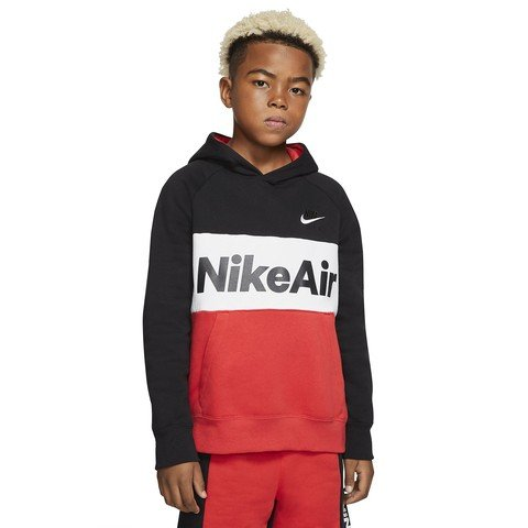 Nike Air Older Kids' (Boys') Pullover Hoodie Çocuk Sweatshirt