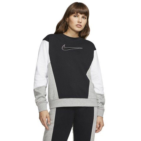 Nike Sportswear Crew HBR Fit Color Block Kadın Sweatshirt