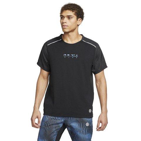Nike Rise 365 Top Short-Sleeve Hybrid Erkek Tişört