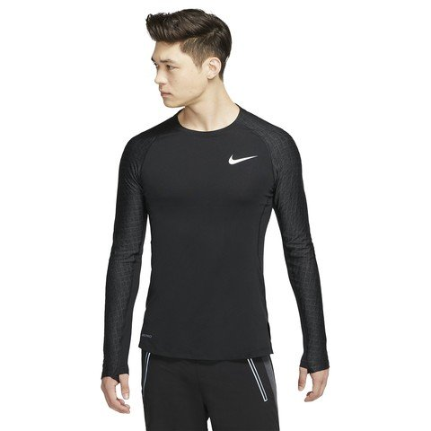 Nike Pro Long Sleeve Training Top Erkek Uzun Kollu Tişört