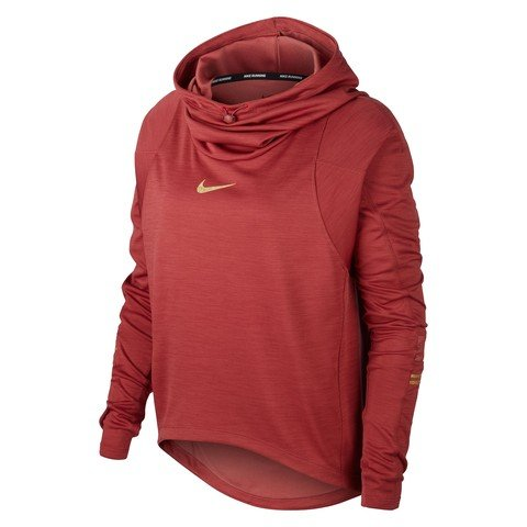 Nike Glam Midlayer Long Sleeve Hoodie Kadın Kapüşonlu Sweatshirt