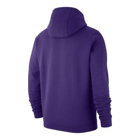 Nike Los Angeles Lakers NBA Hoodie Erkek Kapüşonlu Sweatshirt