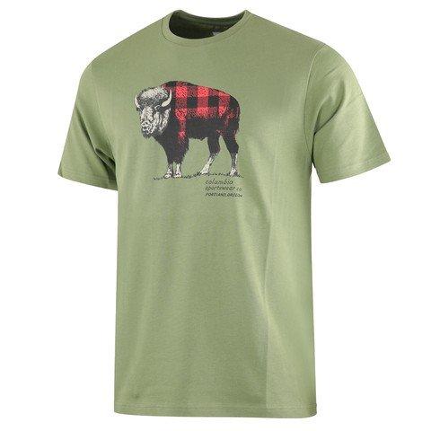 Columbia Check The Buffalo Short Sleeve Erkek Tişört