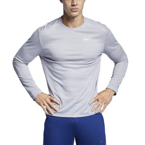 Nike Dri-Fit Miler Long Sleeve Running Top SS19 Uzun Kollu Erkek Tişört