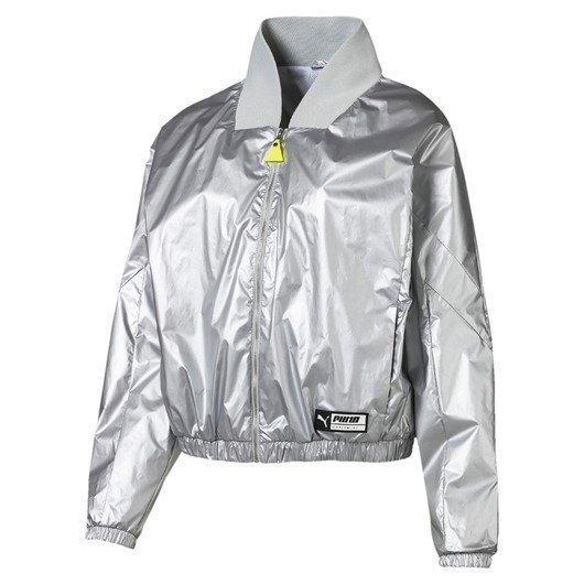 Puma TZ Metallic Full-Zip Kadın Ceket