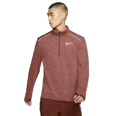 Nike Therma Sphere Element 3.0 1/2-Zip Running Top Uzun Kollu Erkek Tişört