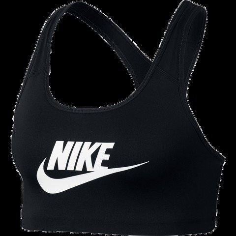 Nike Classic Swoosh Futura Medium Support Sports Kadın Büstiyer