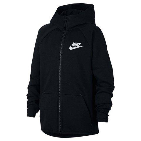 Nike Sportswear Tech Fleece Older B Full-Zip Essentials Hoodie Kapüşonlu Çocuk Ceket