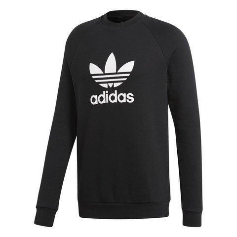 adidas Trefoil Warm-Up Crew FW18 Erkek Sweatshirt