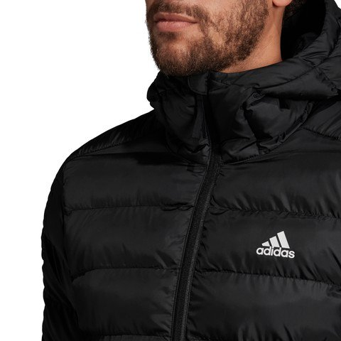 adidas Itavic 3-Stripes 2.0 Hooded Erkek Kapüşonlu Mont