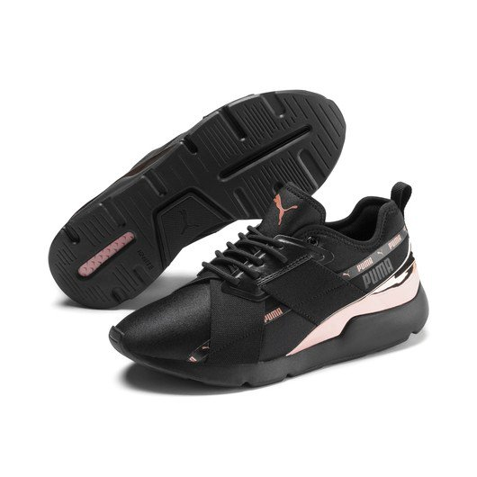 Puma Muse X-2 Metallic Kadın Spor Ayakkabı