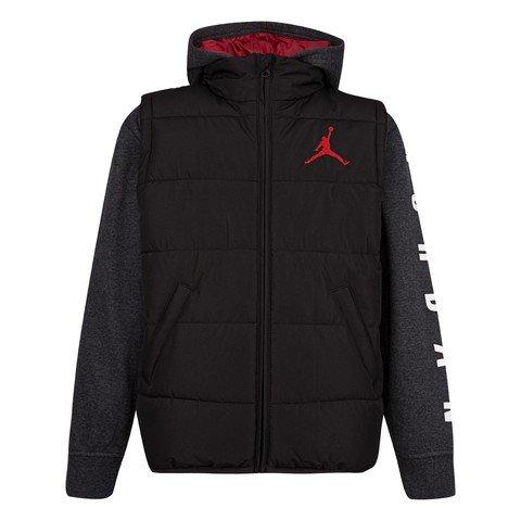 Nike Air Jordan Jumpman Full-Zip Puffer Kapüşonlu Çocuk Ceket