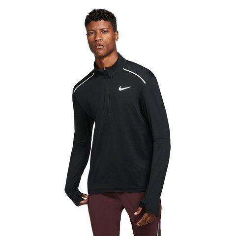 Nike 3.0 1/2-Zip Running Top Uzun Kollu Erkek Tişört