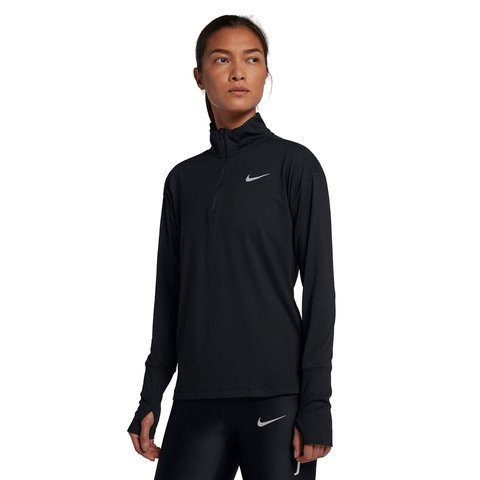Nike Element Half-Zip Running Top Long-Sleeve Kadın Tişört