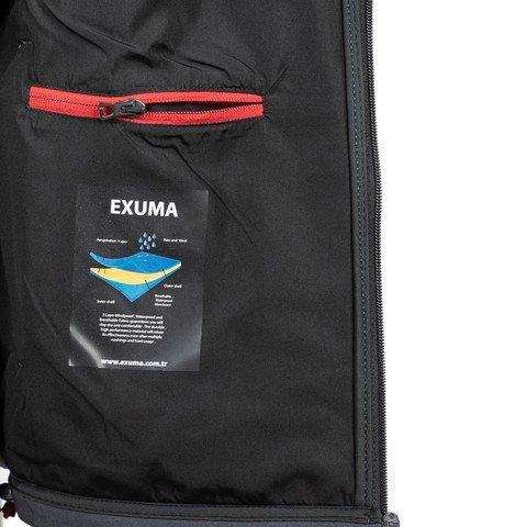 Exuma SoftShell Full-Zip Hoodie Kapüşonlu Erkek Ceket