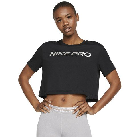 Nike Pro Dri-Fit Short-Sleeve Crop Kadın Tişört