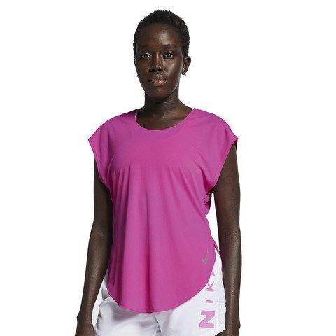 Nike City Sleek Short-Sleeve Top Kadın Tişört