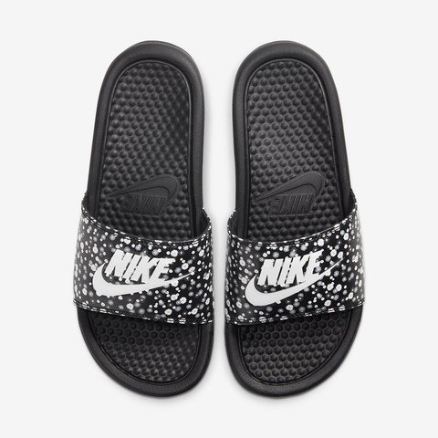 Nike Benassi Just Do It Floral Print Kadın Terlik