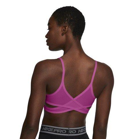 Nike Indy Light-Support Striped Sports Kadın Büstiyer