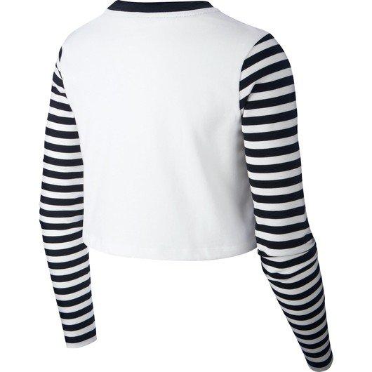 Nike Sportswear Animal Print Uzun Kollu Kadın Tişört