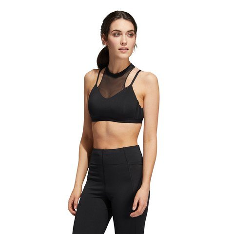 adidas All Me 3-Stripes Mesh Sports Kadın Büstiyer