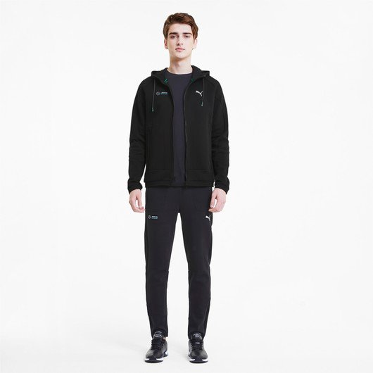 Puma Mercedes Mapm Full-Zip Hooded Erkek Sweatshirt