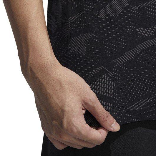 adidas Essentials Allover Print Erkek Tişört