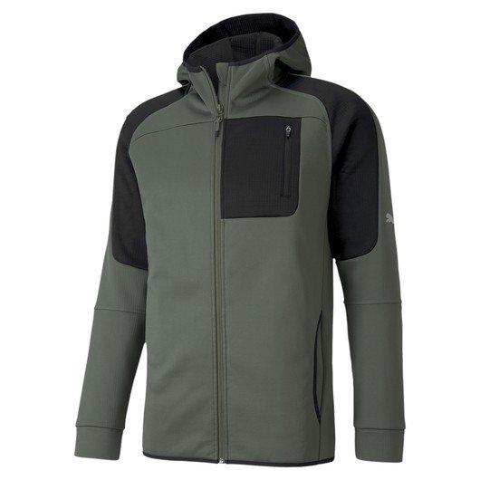 Puma Evostripe Full-Zip Warm Hoodie Erkek Sweatshirt