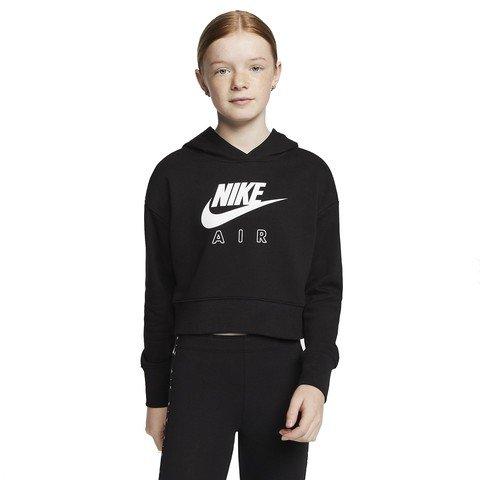 Nike Air Cropped French Terry Hoodie (Girls') Çocuk Sweatshirt