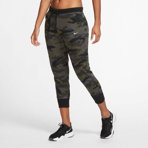 Nike Dry Get Fit Fleece 7/8 Camouflage Kadın Eşofman Altı