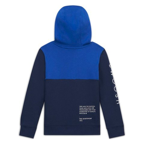 Nike Sportswear Swoosh (Boys') Full-Zip Hoodie Çocuk Sweatshirt