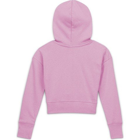 Nike Air Cropped French Terry Hoodie (Girls') Çocuk Sweatshirt