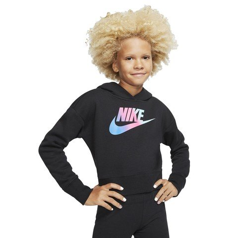 Nike Sportswear Big Kids' (Girls') Cropped Hoodie Çocuk Sweatshirt