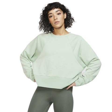 Nike Dri-Fit Fleece Get Fit Lux Crew Kadın Sweatshirt