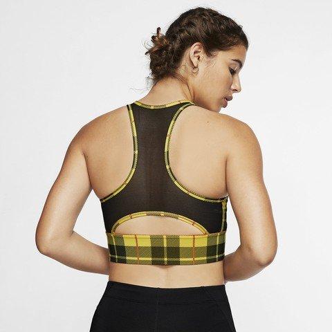 Nike Everything Plaid Medium-Support Sports Kadın Büstiyer