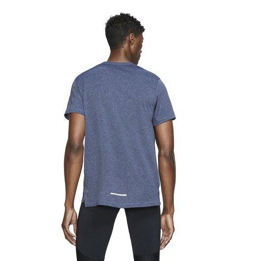 Nike Dri-Fit Miler Short-Sleeve Knit Running Top Erkek Tişört