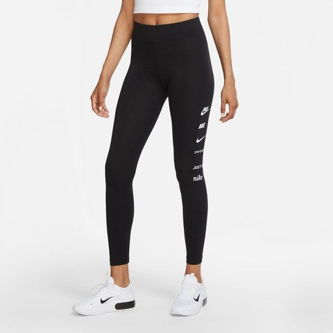 Nike Sportswear Swoosh High-Waisted Leggings Kadın Tayt