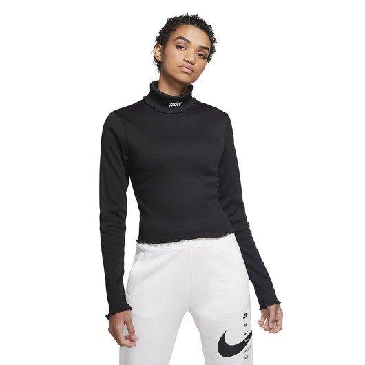 Nike Sportswear Ribbed Long-Sleeve Top Kadın Tişört