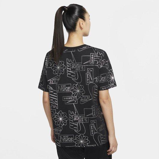 Nike Sportswear Logo Printing Kadın Tişört